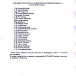 Список на посетители - Работилница Штип 16.02.2013