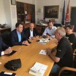 Средба со Министерот и Директорите на ФЗОМ