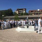 Протест против насилство врз лекари - Кичево