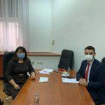 Состанок со Претседателот на комисијата за здравство